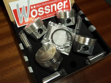 Pistons and Con Rods Set Forged Wossner